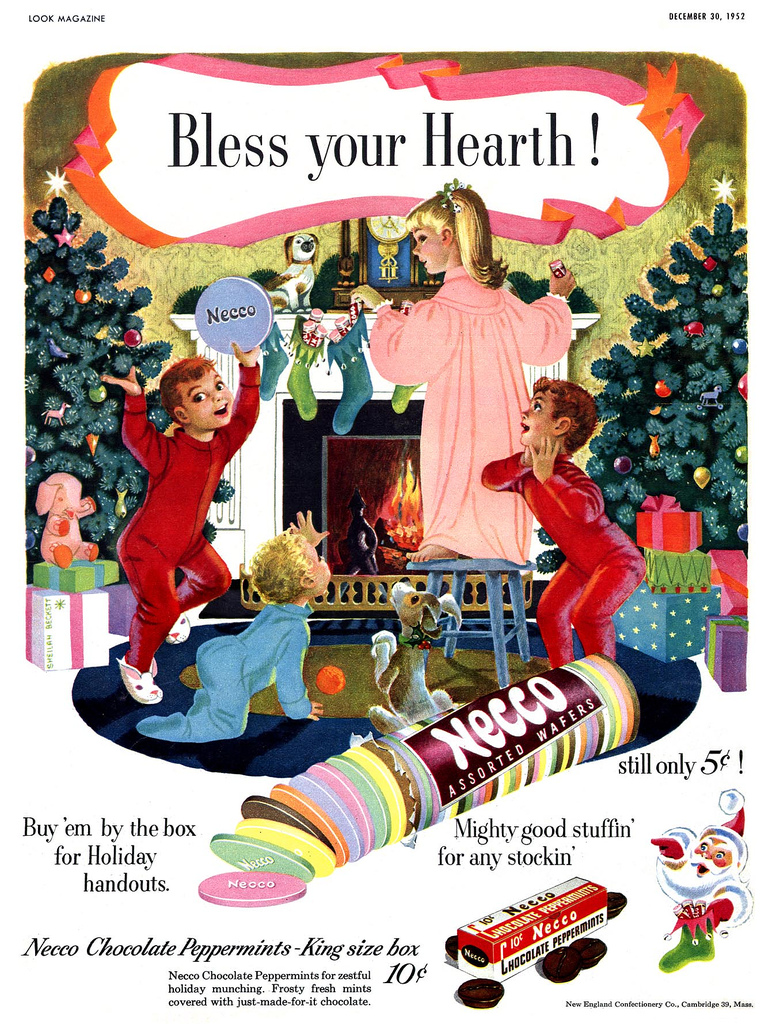Retro Christmas Toy : Have a vintage advertising christmas or santa full of